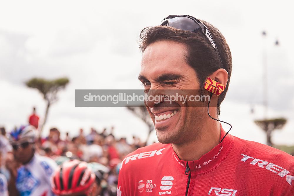 September 7th 2017, Suances to Santo Toribio de Liébana, Spain; Cycling, Vuelta a Espana Stage 18; Alberto Contador.