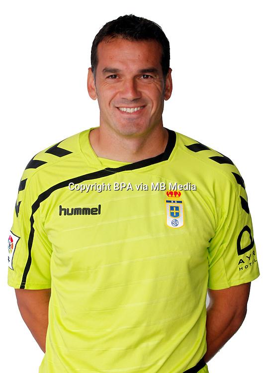 Spain - La Liga Adelante 2015-2016 / <br /> ( Real Oviedo ) - <br /> Esteban Andres Suarez