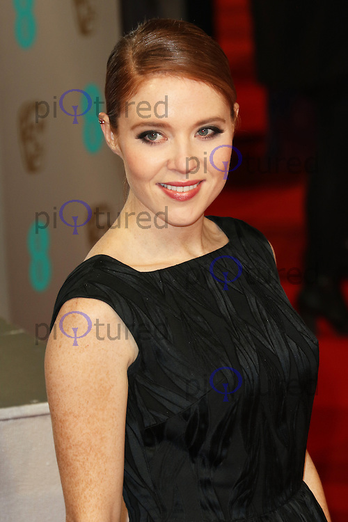 Angela Scanlon, EE British Academy Film Awards (BAFTAs), Royal Opera House Covent Garden, London UK, 08 February 2015, Photo by Richard Goldschmidt