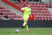 Dean Henderson of Manchester United U23's during the Under 23 Premier League 2 match between Southampton and Manchester United at St Mary's Stadium, Southampton, England on 22 August 2016. Photo by Phil Duncan.
