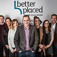 Pictures show staff members of Better Placed recruitment agency at their offices on Commercial Street, Manchester on February 7th 2017<br /> Pictures by Paul Currie