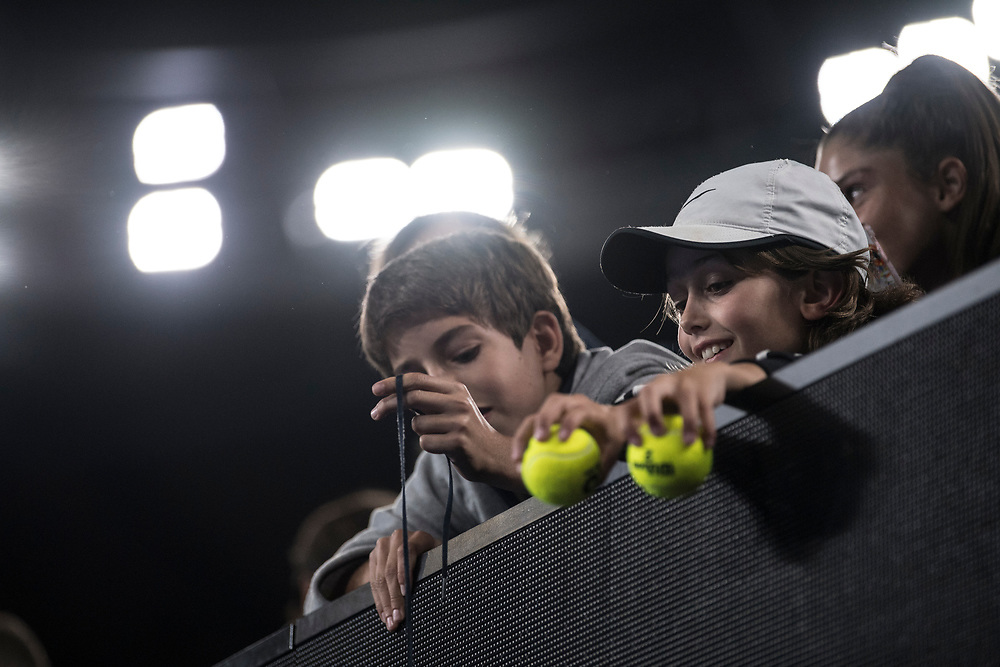 Fans on day nine of the 2018 Australian Open in Melbourne Australia on Tuesday January 23, 2018.<br /> (Ben Solomon/Tennis Australia)