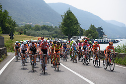Susanna Zorzi (Lotto Soudal) comes the the front at Giro Rosa 2016 - Stage 4. A 98.6 km road race from Costa Volpino to Lovere, Italy on July 5th 2016.