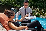 The spar hotel sunscreen  butler