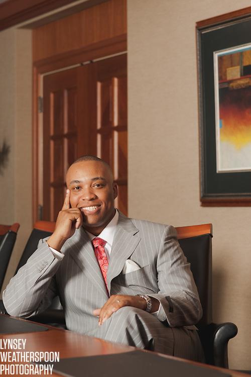 Donta Wilson, Alabama chief of BB&T, for Upgrade magazine.