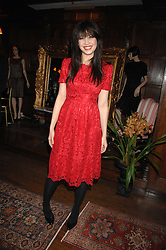 DAISY LOWE  at a tea party to launch Pearl Lowe's Spring 2007 fashion collection held at Libery, Great Marlborough Street, London on 20th March 2007.<br />NON EXCLUSIVE - WORLD RIGHTS