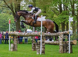 Pippa Funnell and BILLY BEWARE - Cross Country phase, Mitsubishi Motors Badminton Horse Trials, Badminton House, Gloucestershire, United Kingdom, Saturday, 10th May 2014. Picture by Nico Morgan / i-Images