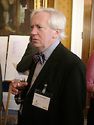 Professor Neil Collins, Political Studies Association Awards 2004. Institute of Directors, Pall Mall. London SW1. 30 November 2004.  ONE TIME USE ONLY - DO NOT ARCHIVE  © Copyright Photograph by Dafydd Jones 66 Stockwell Park Rd. London SW9 0DA Tel 020 7733 0108 www.dafjones.com