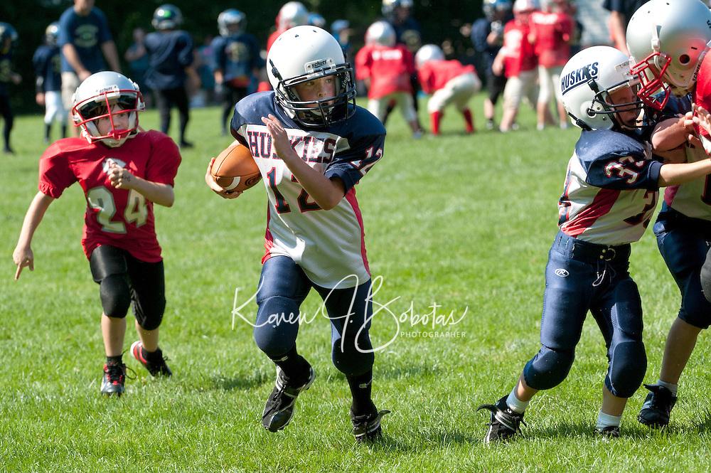 Laconia Youth Football Jamboree Saturday,  August 20, 2011.