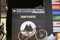 Jolanda Neff's winning bike at the 2014 UCI Mountainbike World Cup 2014 at Pietermaritzburg.