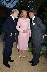 Left to right, TRH PRINCE & PRINCESS MICHAEL OF KENT and ARNAUD BAMBERGER at the annual Cartier Flower Show Diner held at The Physics Garden, Chelsea, London on 23rd May 2005.<br /><br />NON EXCLUSIVE - WORLD RIGHTS