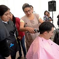 Toluca, México.- Inauguración de la Feria de Prevención Social del Delito en la plaza Juárez de San Mateo Atencorealizada por la CESC.  Agencia MVT / Crisanta Espinosa