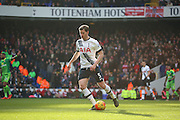 Tottenham Hotspur defender Jan Vertonghen dribbling during the Barclays Premier League match between Tottenham Hotspur and Sunderland at White Hart Lane, London, England on 16 January 2016. Photo by Matthew Redman.