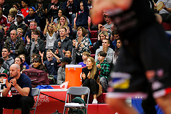 Bristol Flyers fans - Rogan Thomson/JMP - 05/11/2016 - BASKETBALL - SGS Wise Arena - Bristol, England - Bristol Flyers v Leicester Riders - BBL Championship.