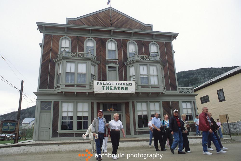 Dawson Palace Grande Theatre in Dawson City Yukon
