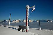 Observatoire sur le Moléson, hiver 2010. © Romano P. Riedo