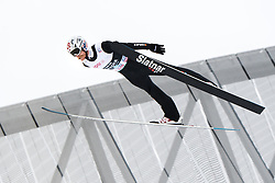 March 9, 2019 - Oslo, NORWAY - 190309 Robert Johansson of Norway competes in men's team competition during the FIS Ski-Jumping World Cup on March 9, 2019 in Oslo..Photo: Fredrik Varfjell / BILDBYRÃ…N / kod FV / 150213. (Credit Image: © Fredrik Varfjell/Bildbyran via ZUMA Press)
