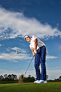 Ian Poulter Instruction at Lake Nona for Golf World Magazine.