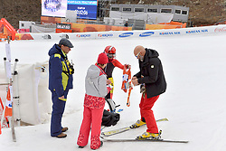 Behind the scenes, Les Coulisses with SANA Eleonor B2 BEL Guide: SANA Chloe in the ParaSkiAlpin, Para Alpine Skiing, Slalom at the PyeongChang2018 Winter Paralympic Games, South Korea.