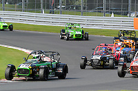 #78 Danny Winstanley Caterham Superlight R300-S during the BookaTrack.com Caterham Superlight R300 Championship at Oulton Park, Little Budworth, Cheshire, United Kingdom. August 13 2016. World Copyright Peter Taylor/PSP.