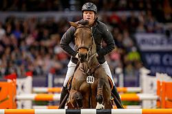WERNKE Jan (GER), QUEEN MARY 10<br /> Neumünster - VR Classics 2020<br /> Siegerehrung<br /> Preis der BEMER Int. AG<br /> CSI3* Internationale Weltranglisten-Springprüfung<br /> mit Stechen (1,50m)<br /> 15. Februar 2020<br /> © www.sportfotos-lafrentz.de/Stefan Lafrentz