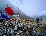 BHUTAN, TREKKING, LUNANA, Tsempo La 4,500m. pass Reubin Sr