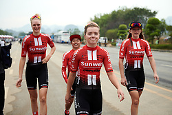 Susanne Andersen (NOR) at GREE Tour of Guangxi Women's WorldTour 2019 a 145.8 km road race in Guilin, China on October 22, 2019. Photo by Sean Robinson/velofocus.com