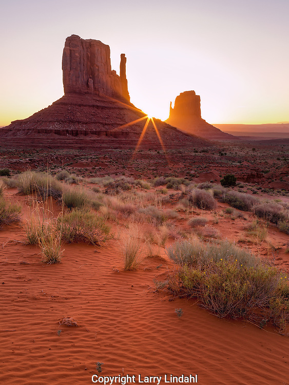 Sunrise, The Mittens, Monument Valley, Arizona