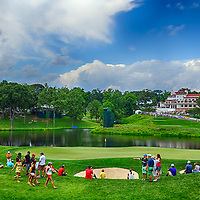28 June 2013:  A general view of Congressional Country Club during the second round of  the 2013 AT&T National in Bethesda, MD. taken in a 15 frame HDR image.