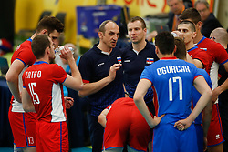 20170524 NED: 2018 FIVB Volleyball World Championship qualification, Koog aan de Zaan<br />Miroslav Palgut, headcoach of Slovakia <br />©2017-FotoHoogendoorn.nl / Pim Waslander