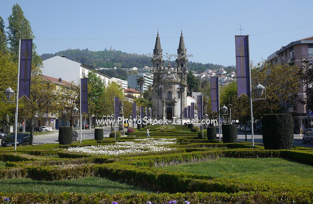 Portugal, Braga, Guimaraes Church Nossa Senhora da Consolação