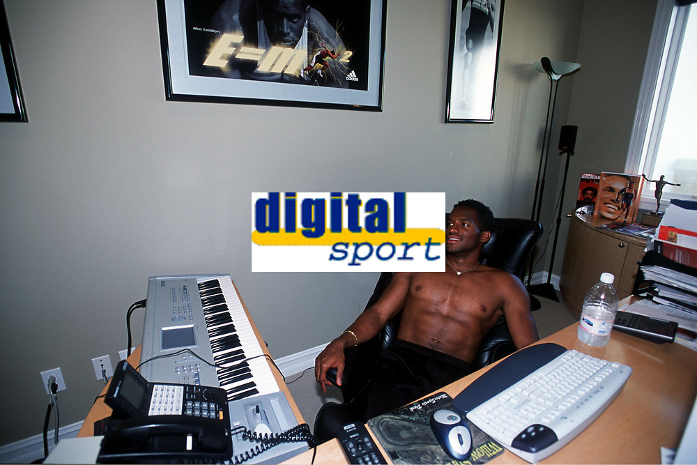ATHLETICS - LOS ANGELES (USA) - HSI GROUP - EXCLUSIF - 200105 - PHOTO: PHILIPPE MILLEREAU / DIGITALSPORT, ATO BOLDON (TRI) - AT HOME