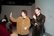 THOMAS HEATHERWICK; TOM DIXON, Ron Arad; Restless. Cocktail reception hosted by Kate Bush of the Barbican and Tony Chambers of Wallpaper magazine. Barbican art Gallery. London. 17 September 2010