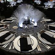 The Reagan Center dinner table