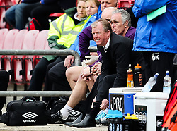 Derby County Manager, Steve McClaren  - Photo mandatory by-line: Matt McNulty/JMP - Mobile: 07966 386802 - 06/04/2015 - SPORT - Football - Wigan - DW Stadium - Wigan Athletic v Derby County - SkyBet Championship