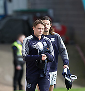 16th September 2017, Dens Park, Dundee, Scotland; Scottish Premier League football, Dundee versus St Johnstone; Dundee's on loan from Celtic midfielder Scott Allan was on the bench for the visit of St Johnstone to Dens Park