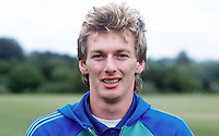 Alan McDonald, footballer, Queen's Park Rangers, possible N Ireland cap, 19840088AMD2.<br /> <br /> Copyright Image from Victor Patterson,<br /> 54 Dorchester Park, Belfast, UK, BT9 6RJ<br /> <br /> t1: +44 28 90661296<br /> t2: +44 28 90022446<br /> m: +44 7802 353836<br /> <br /> e1: victorpatterson@me.com<br /> e2: victorpatterson@gmail.com<br /> <br /> For my Terms and Conditions of Use go to<br /> www.victorpatterson.com