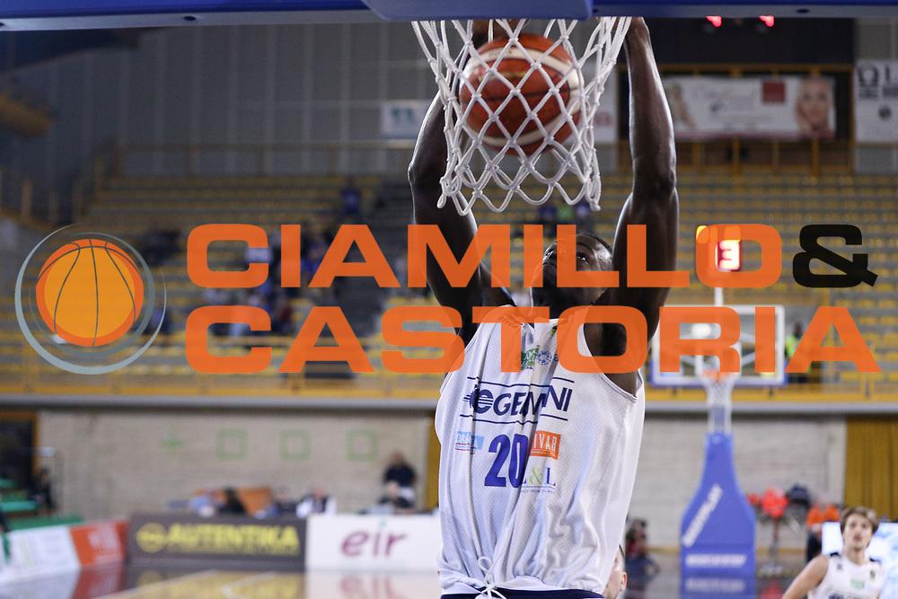 Fall Abdel, Germani Basket Brescia vs Stelmet Zielona Gora, 2 edizione Trofeo Roberto Ferrari, PalaGeorge di Montichiari 22 settembre 2017