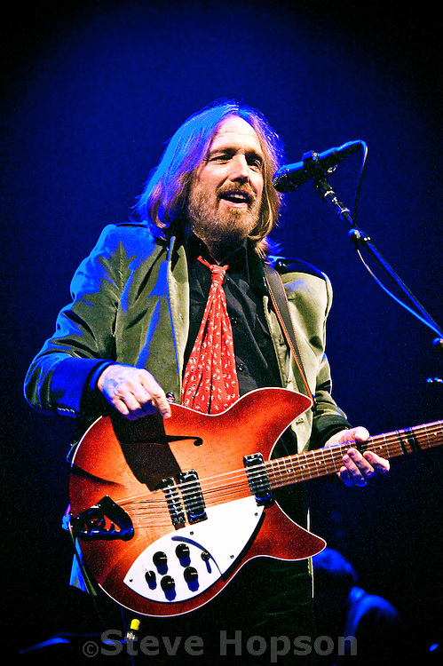 Tom Petty performing at the Erwin Center, Austin, Texas, May 5, 2012.