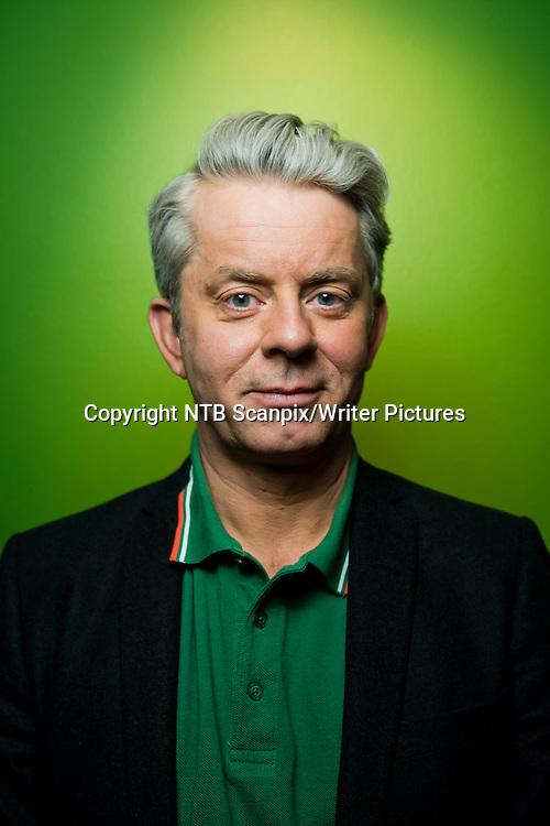 Oslo  20130228.<br /> Forfatter og satiriker Knut N&Ecirc;rum f&Acirc;r Spr&Acirc;kgledeprisen 2013 for &Acirc; ha spredd spr&Acirc;kglede i den norske offentligheten gjennom flere &Acirc;r, i flere medier og innenfor flere sjangre. <br /> Foto: Fredrik Varfjell / NTB scanpix<br /> <br /> NTB Scanpix/Writer Pictures<br /> <br /> WORLD RIGHTS, DIRECT SALES ONLY, NO AGENCY