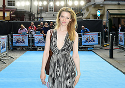 Talulah Riley attending the Swimming with Men premiere held at Curzon Mayfair, London.