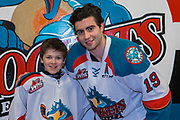 KELOWNA, CANADA - MARCH 14:  Pepsi Player of the game with Dillon Dube #19 of the Kelowna Rockets at the Kelowna Rockets game on March 14, 2018 at Prospera Place in Kelowna, British Columbia, Canada.  (Photo By Cindy Rogers/Nyasa Photography,  *** Local Caption ***
