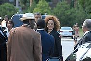 16 August 2008 - Chicago, Illinois - Singer Sanita Jackson (daughter of Rev. Jesse Jackson).Bernie Mac Public Memorial.Venue: House of Hope, 752 E 114th St, Chicago, IL, 12pm. Photo Credit: Heather A. Lindquist/Sipa.
