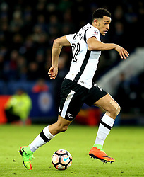 Nick Blackman of Derby County runs with the ball - Mandatory by-line: Robbie Stephenson/JMP - 08/02/2017 - FOOTBALL - King Power Stadium - Leicester, England - Leicester City v Derby County - Emirates FA Cup fourth round replay
