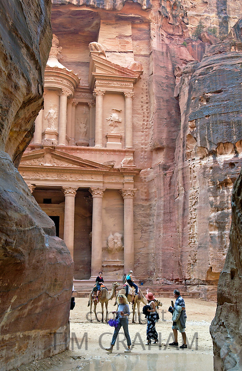 The Treasury Building, Petra, Jordan