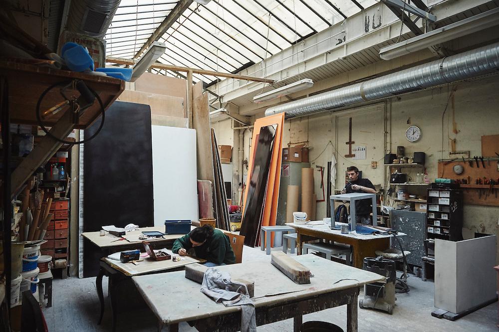Paris, France. Atelier Midavaine. December 12, 2014. A view of the Atelier Midavaine. Photo: Antoine Doyen for The Wall Street Journal - GURU