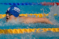 Emilia Pikkarainen of Finland competes during the Women's 50m Butterfly Heats during the 13th FINA World Championships Roma 2009, on July 31, 2009, at the Stadio del Nuoto,  in Foro Italico, Rome, Italy. (Photo by Vid Ponikvar / Sportida)