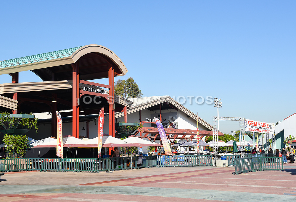 Santa Ana And Costa Mesa Exhibit Pavilions At The OC Fair And Event Center