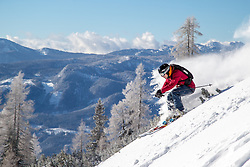 THEMENBILD - ein Freerider im Tiefschnee, aufgenommen am 29. Dezember 2016, Bad Mitterndorf, Österreich // a Freerider in powder, taken on 29. December 2016, Bad Mitterndorf, Austria, EXPA Pictures © 2016, PhotoCredit: EXPA/ Dominik Angerer