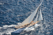 "France Saint - Tropez October 2013, Classic yachts racing at the Voiles de Saint - Tropez<br /> C,C1,MARIQUITA,""33,7"",19M JI AURIQUE/1911,WILLIAM FIFE"